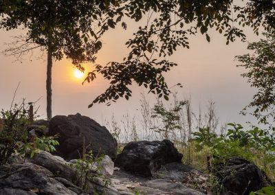 Sunrise from the hill   Payana Kampot