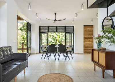 Living Room & Kitchen Payana House Kampot