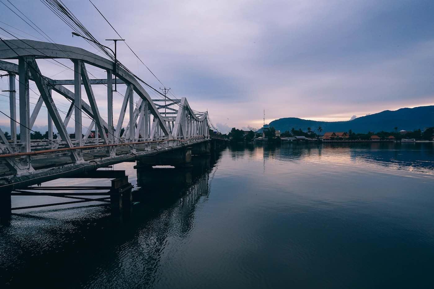 Kampot Old Bridge